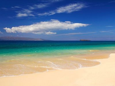 Makena Beach, or locally known as 'Big Beach'. This is one of our favorites.