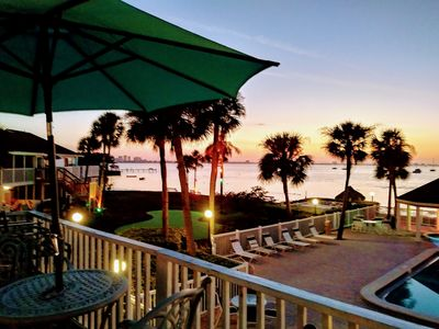 Photo for Spectacular View, New $40,000 Renovation, Private Beachfront Condo, St.Pete