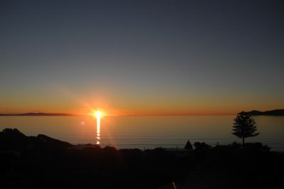 MAGNIFICENT SUNSETS VIEWED FROM DECK