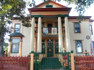 Photo for Historical-9 Huge Rooms-3 Common Areas-Close to Everything Galveston h