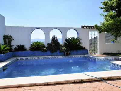 Photo for Andalusian house with private pool in the picturesque village of Zagrilla Alta