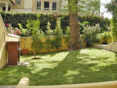 Photo for Apartment 2P very equipped with terrace on garden to the SEA near 6 GOLFS