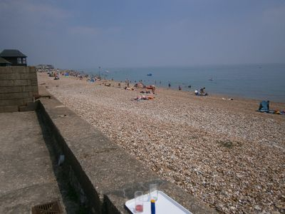 Photo for Step onto the Beach at 7 Aldwick Avenue