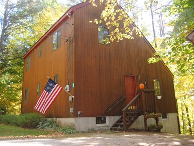 Photo for Secluded & update 3 bedrooms close to Okemo- perfect for guests with kids