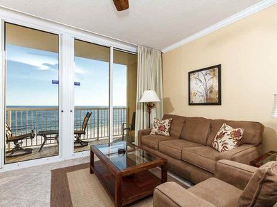 Photo for Your next home away from home on Okaloosa Island!Free beach chairs! Steps to beach! Covered parking!
