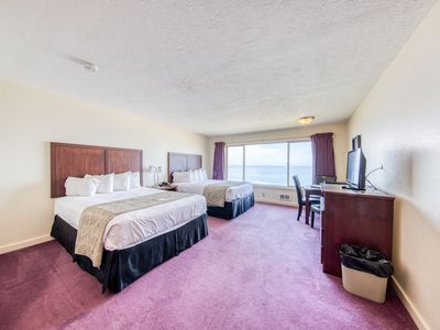 Photo for Wake up to ocean views from your room w/ a shared pool, hot tub, & beach access