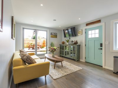 Photo for CHIC 2BR/1BA BERNAL/MISSION OASIS/SAUNA GARDEN NEW FURNISHED APARTMENT