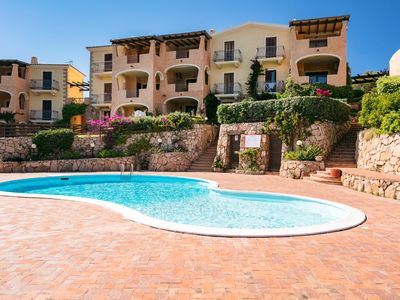 Photo for Bia de Bados B3 Apartment with Wifi, Private Garden and Shared Swimming Pool