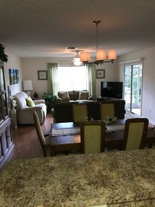 Open dining/living room