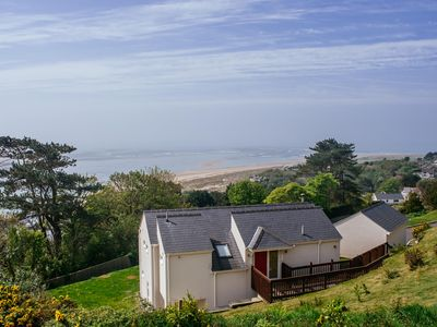 Photo for luxurious holiday home with wonderful views over Cardigan Bay