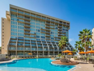 Photo for Dog-friendly, beachside condo w/ shared pools & hot tubs!
