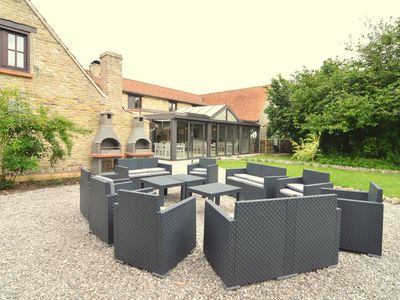 Photo for Luxury holiday villa for 30 people at a stone's throw from the Flemish coast