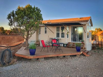 Photo for Cozy House on 35 Acres with Mesa Verde and Mountain Views.