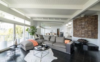 Photo for Stunning designer modern mid century house with breathtaking views