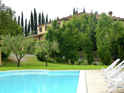 Photo for Beautiful Villa in Lari, with swimming pool