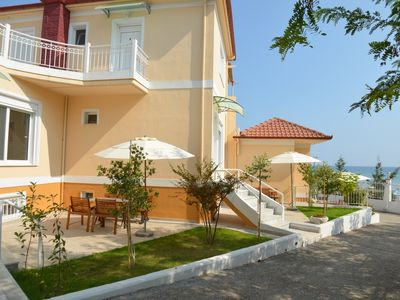 Photo for Seafront Holiday Home No 3 on a Long Sandy Beach, GeoMare, Ground Floor