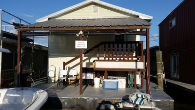 Venice Houseboat For Rent + $75 cleaning fee, & inshore  veniceguideservice com - Venice