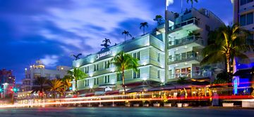 Bentley Hotel and Beach Club, South Beach, Miami Beach, FL, USA
