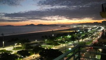 AP furnished oceanfront in Santos! ALREADY RENTED ON CHRISTMAS AND NEW YEAR