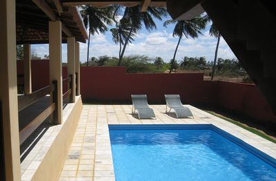 Photo for Cozy house near the beach with pool and garden