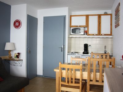 Photo for Les Saisies Studio close to everything and quiet, superb 180 ° panoramic view