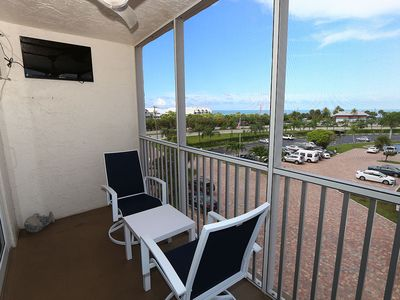 Photo for Updated 4th Floor Studio Condo - Bonita Beach and Tennis Club 4405