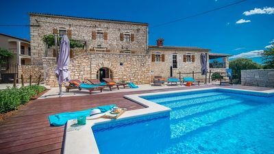 Photo for Villa Safranka -Enchanting Stone Villa situated in the Istrian Countryside, Private Pool -Free WiFi