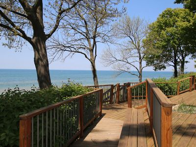 Photo for Lake Views & Beach Access on Coveted Golden Mile!