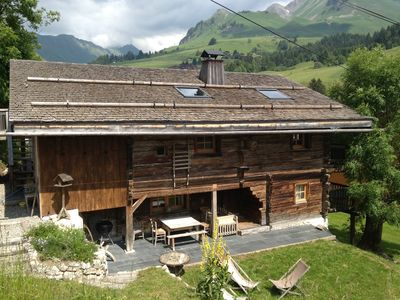 Photo for Magnificent old traditional chalet renovated recently with extreme charm