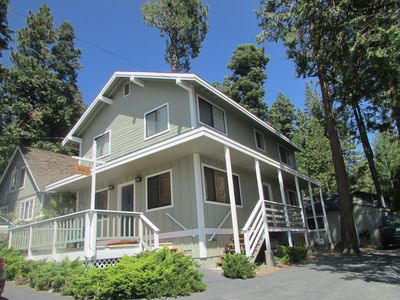 Photo for Great value! perfect home w/ lake view walk to beach and Tahoe City