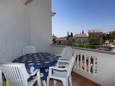 Photo for Two bedroom apartment with terrace Novalja, Pag (A-212-b)