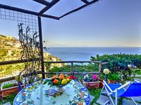 Very nice spot with charming patio and great view
