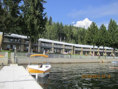 Photo for Lakefront Condo on Sunny Side of Shuswap Lake