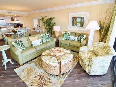 Photo for Newly renovated Sanibel Harbour Resort condo over looking Beach and Sunset views