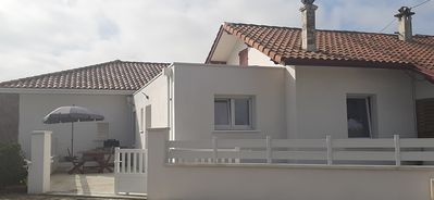 Photo for Comfortable house, renovated, air-conditioned, 300 m from the beaches