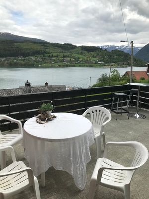 Photo for Ulvik pearl overlooking the fjord and mountains