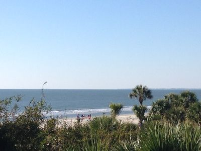 Photo for BREAKERS 308 - BEACHFRONT PROP.  NEW MATTRESS, WASHER/DRYER, FREE WIFI.