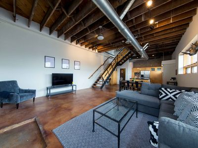 Photo for Sprawling Downtown Oasis w/ Rooftop Deck & Parking
