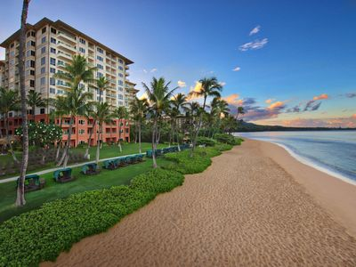 Photo for Marriott Maui Ocean Club, 3BR Oceanfront Corner Villa with amazing views!
