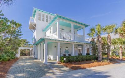 Photo for Seacrest Beach home with private pool and 4 bikes.