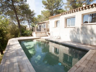 Photo for House 160 m2 heated swimming pool 10 minutes from Montpellier. 25 mn beach.