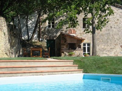 Typical Tuscan villa with outstanding views sleeps 8 private pool 12 x 6 m.