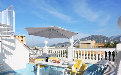 Photo for SORRENTO - ITALY Apartment 130 sqm in villa with private terrace and garden