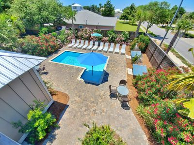 Photo for New Luxury Beach Home, Private Pool, Free 6 Person Golf Cart! 3 Minutes to Beach