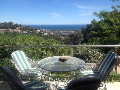 Photo for New apartment / sea view near Cannes / secure domain / pool