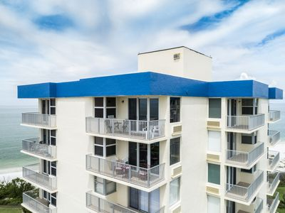 Photo for Estero Beach and Tennis Club Building C PENTHOUSE 2 Direct Gulf of Mexico