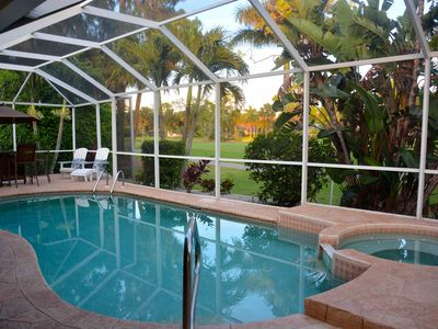 Photo for Stunning Golf Course Views on Cul-de-Sac Single Family Home in Lely Country Club
