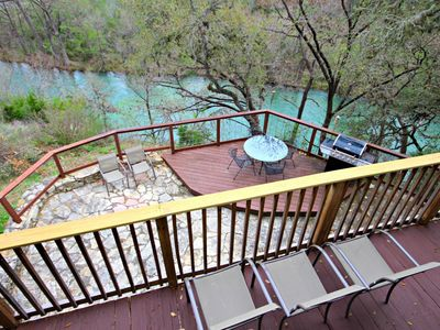 Photo for Rick's River Haus- Sleeps 12, Perfect Spot for Tubing & Whitewater Amphitheater!