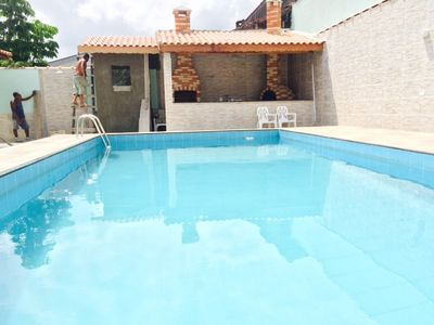 Photo for House with pool in Itanhaém, Close to the beach !!!