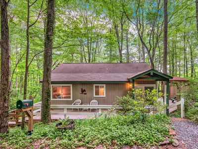Photo for Smoky Mountain Treehouse - Cozy, Clean, Hot Tub, WiFi, Central Heat/Air, Reviews